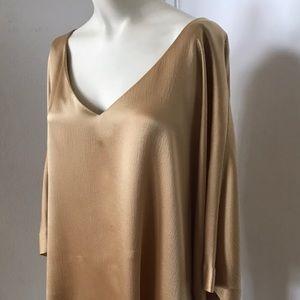 Vintage 💫 Escada Gold Silk Blouse